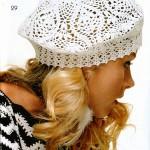 dantel şapka